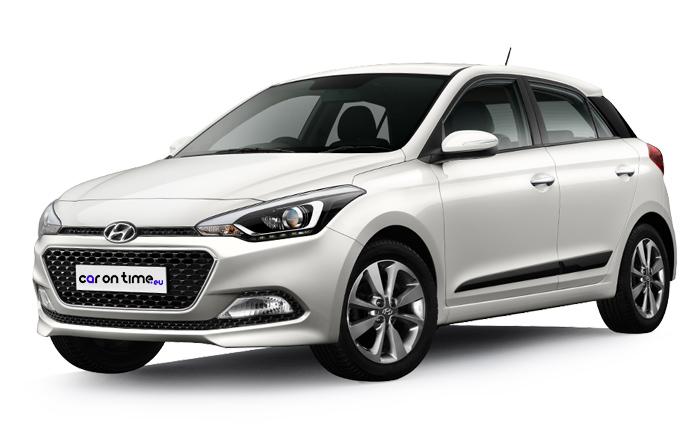 Hyundai i20 - wynajem samochodów śląsk