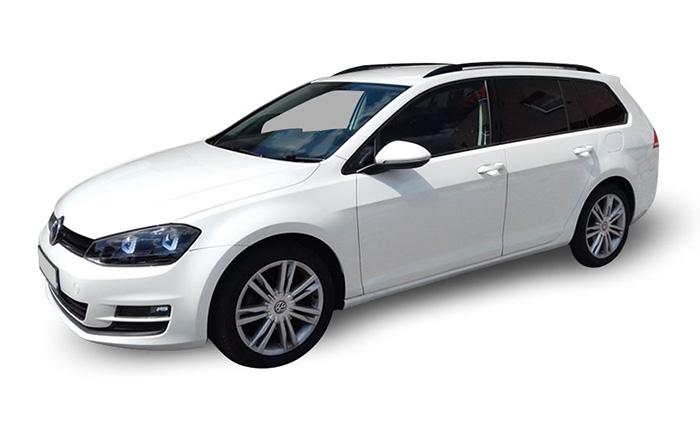 Volkswagen Golf VII - wynajem samochodów śląsk