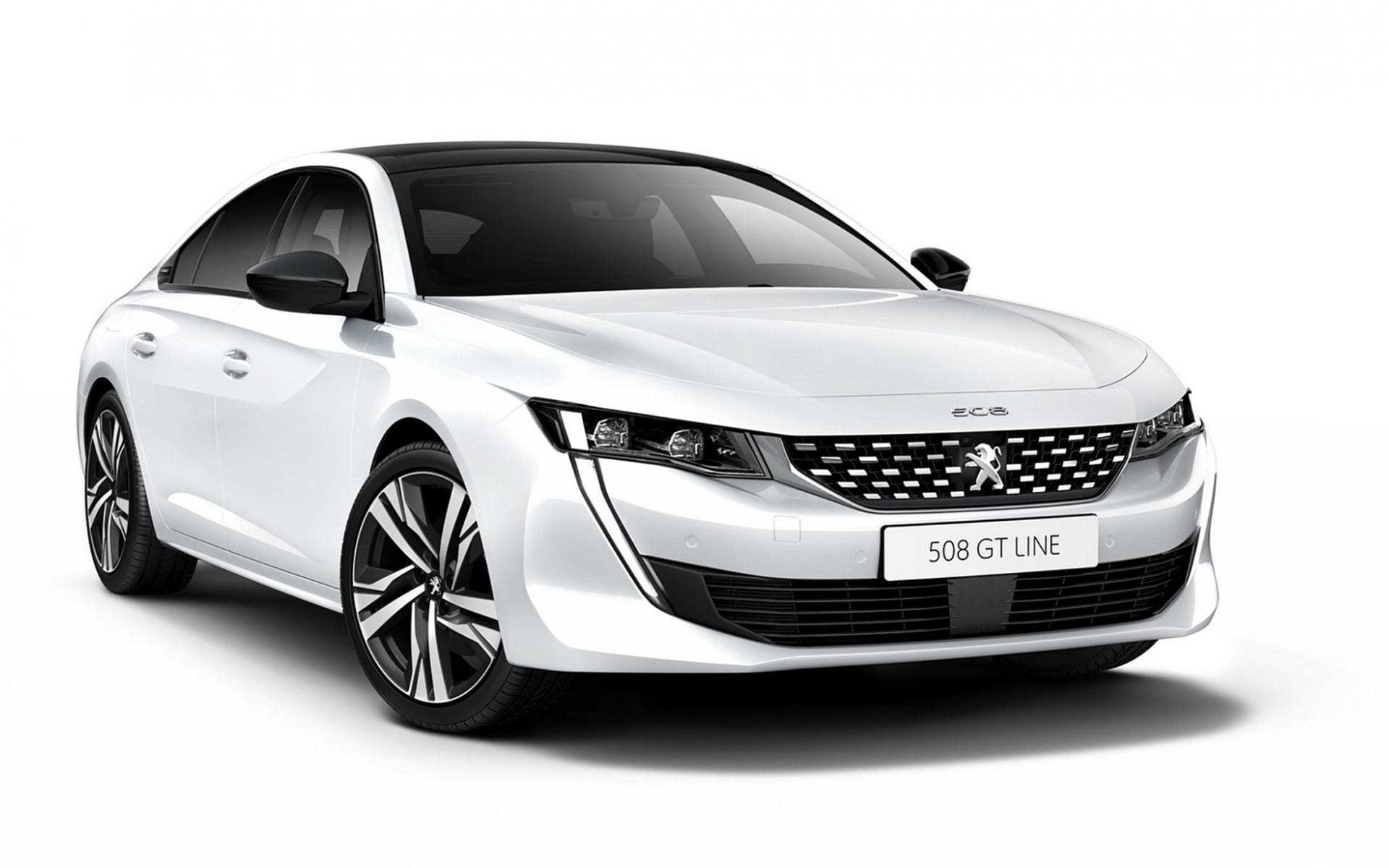 Peugeot 508 1.6 PureTech - wynajem samochodów śląsk
